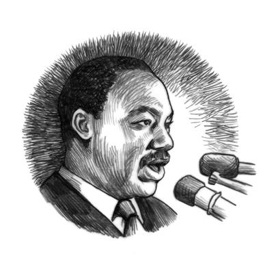 I Am Martin Luther King Jr Drawings Elisabeth Alba