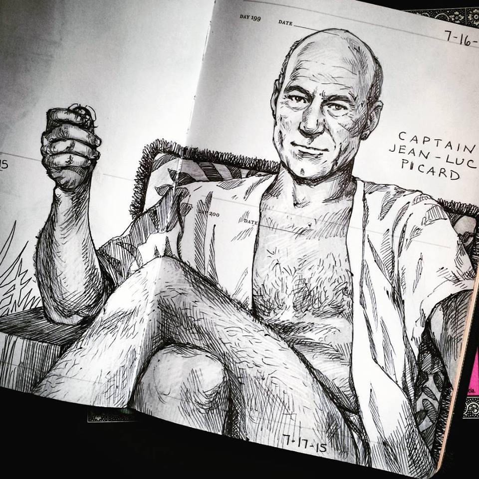 Picard - ooh la la!